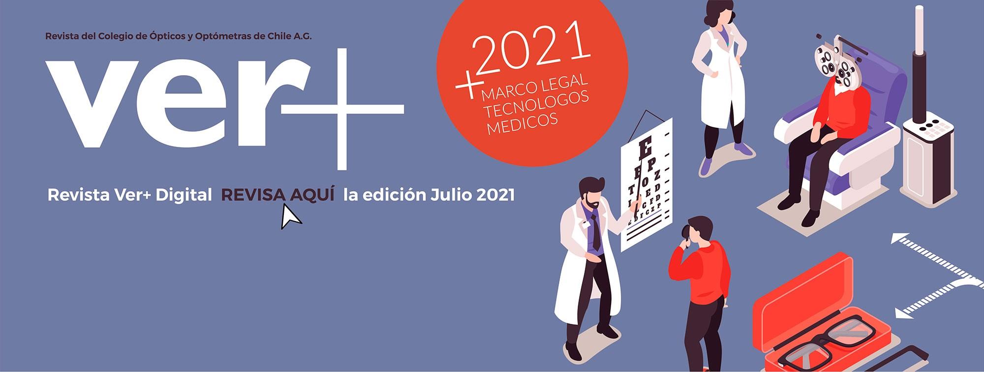 Revista VER+ Edición Julio 2021
